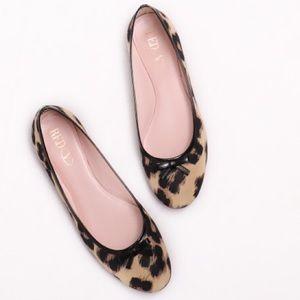 Red Valentino Leopard Print Ballerina Flat